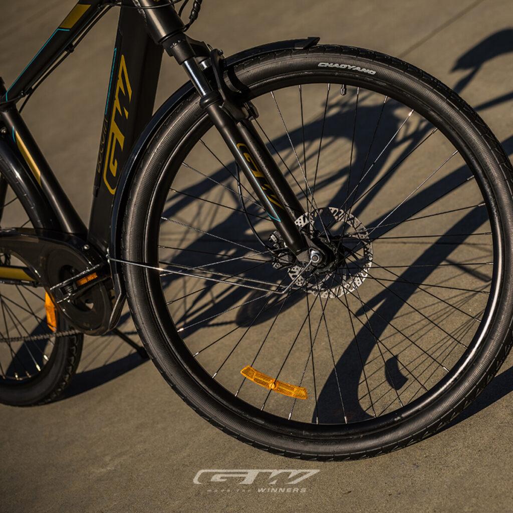 La bicicleta GW BOGOTÁ