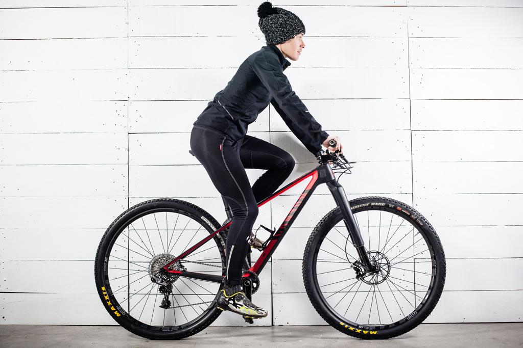 Altura del sillín de la bicicleta