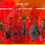 LETRAS, SPRINTER y MACH, las 3 bicis de GW que serán protagonistas en la Vuelta a Colombia