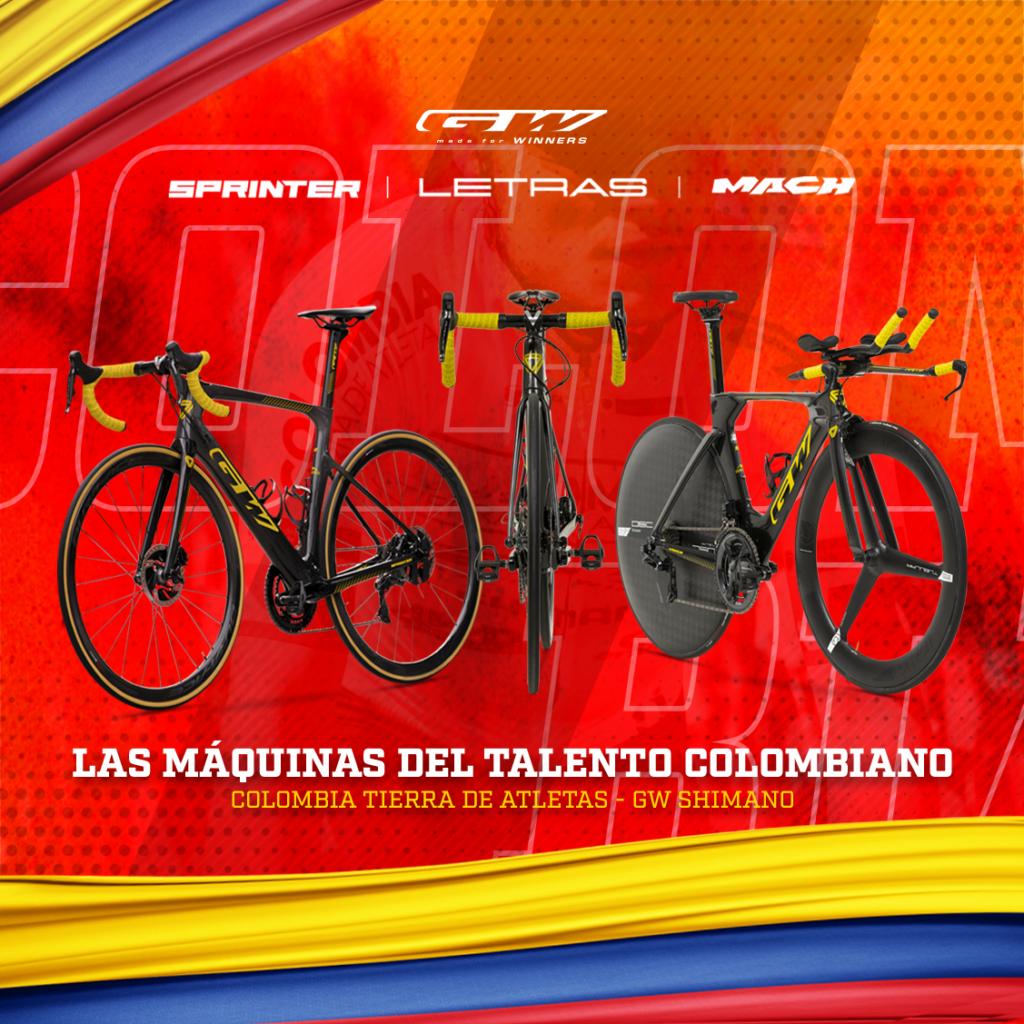 Bicicletas para la Vuelta a Colombia