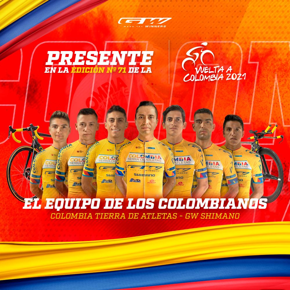 El equipo de todos los colombianos