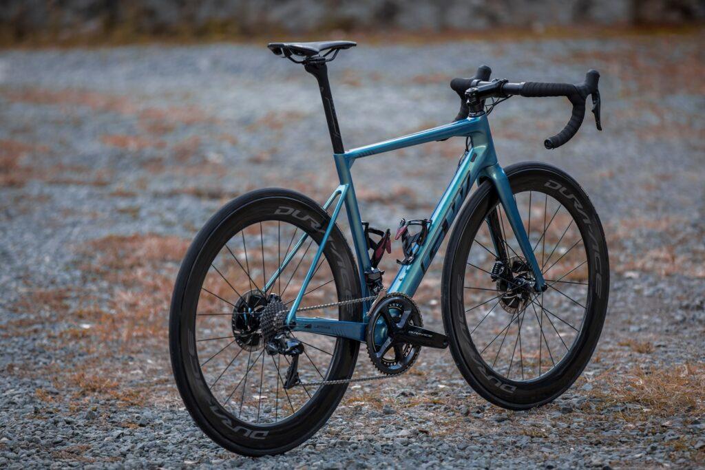 Bicicleta GW Letras para la Vuelta a Colombia