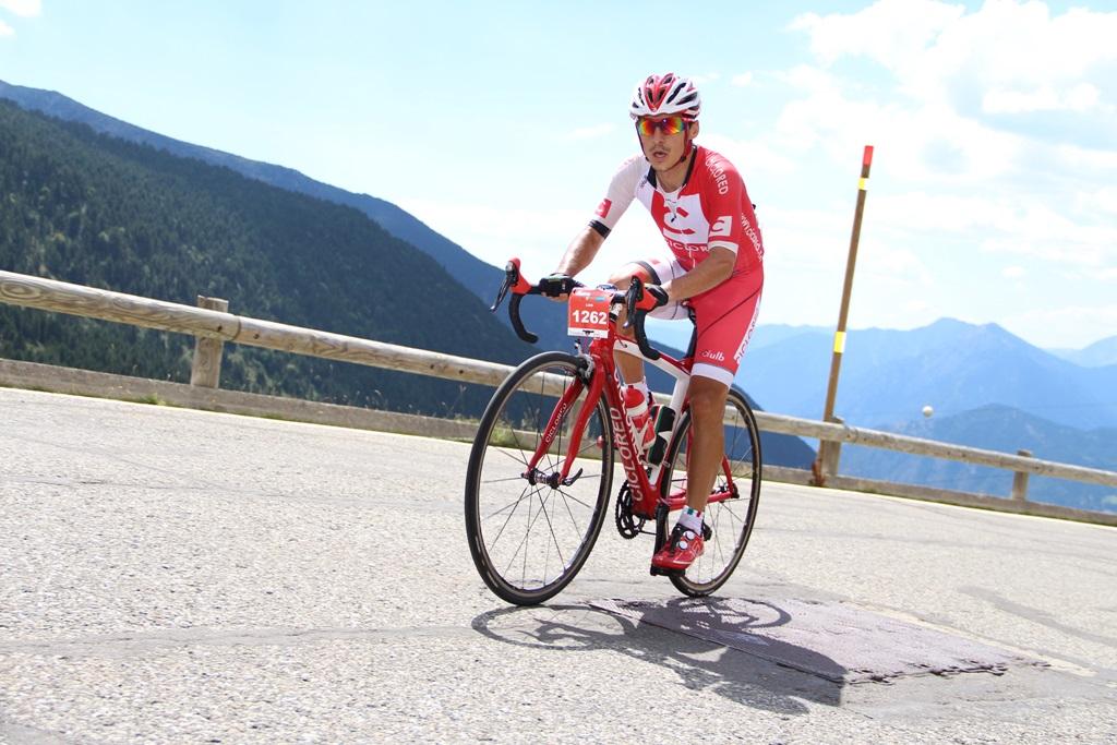 Series de fuerza para ciclistas aficionados