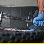 Cómo enderezar la uña o puntera del cambio trasero cuando está doblada