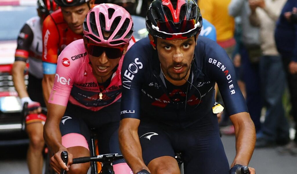 El ciclista colombiano Egan Bernal del Team Ineos Grenadiers se convirtió el pasado domingo en el nuevo campeón del Giro de Italia 2021.
