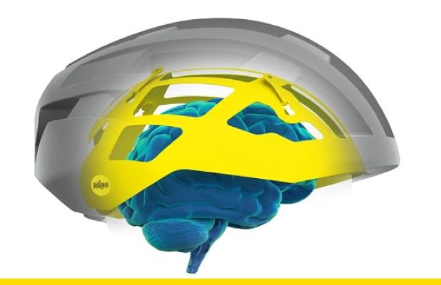 El sistema de protección MIPS que va incorporado en el interior de algunos modelos de cascos de ciclismo, es la opción ideal para proteger no solo tu cabeza de los golpes sino también tu cerebro.