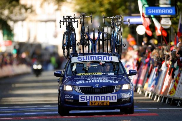 SHIMANO viste de azul el Tour de Francia